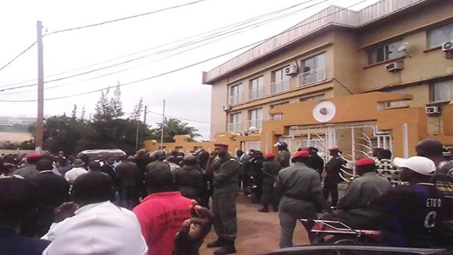 Pro-Biya forces seize headquarters of the Cameroon Football Federation