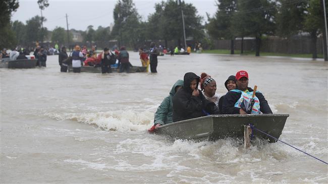 US: Harvey brings death, destruction to Houston as flood waters rise