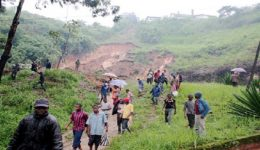 Southern Cameroons: Landslide kills one in Lebialem County