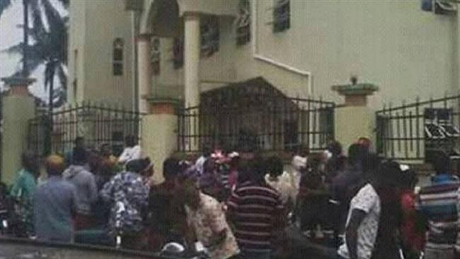 At least 12 people killed in shooting attack on Nigerian Catholic church
