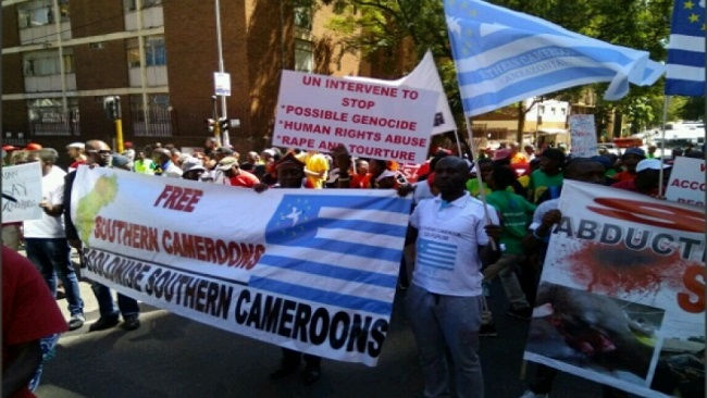 Southern Cameroons Revolution: Minister Dion Ngute escapes lynching in South Africa