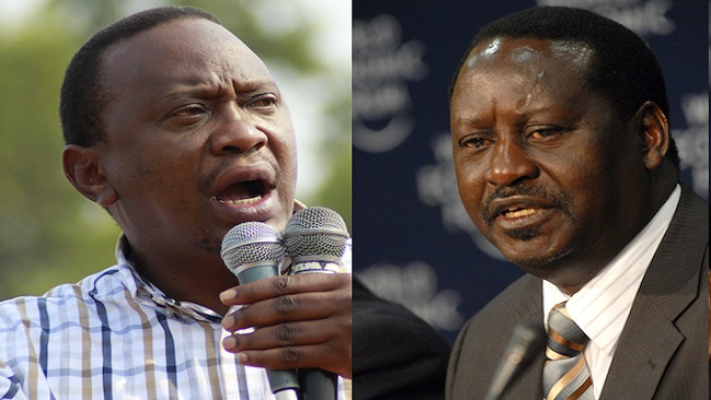 Kenyans heading to polls to choose president