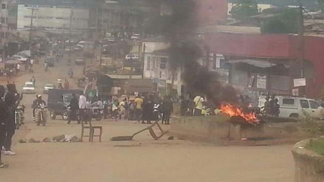Home-made bomb explodes in Bamenda County