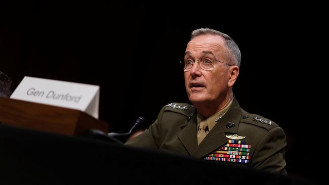 Top US general says Iran complying with nuclear deal