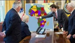 President Trump gets briefing on Southern Cameroons