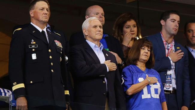 US Vice President leaves 'disrespecting' sport event early as Trump had asked him