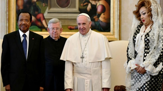 Pope Francis has not commented on the violence in Southern Cameroons