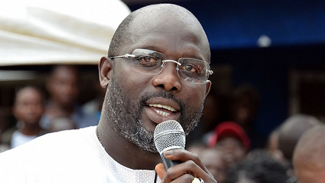 George Weah wins Liberia presidential polls
