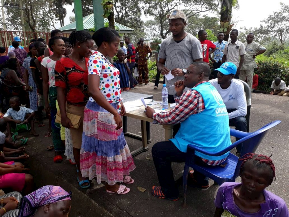 Calabar: Cameroon Asylum Seekers Get UNHCR Relief Materials