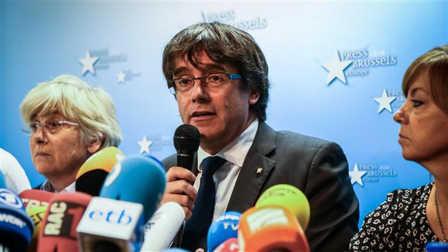 Catalan leader Puigdemont freed with conditions in Belgium