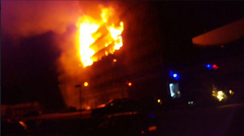 Yaounde: National Assembly building on fire!! What survived? What was lost?