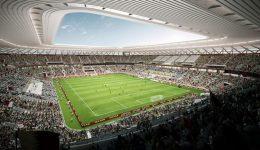 Qatar reveals design of its 7th World Cup stadium