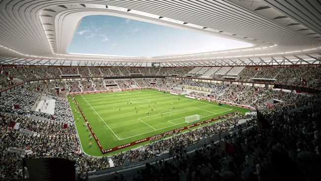 Qatar reveals design of its 7th World Cup stadium