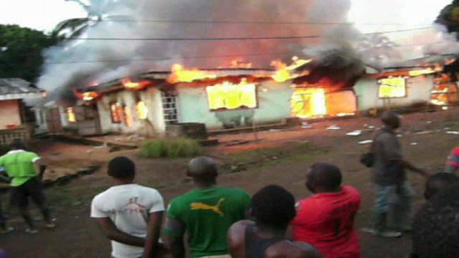 Tiko County: Institute of Health and Science set on fire for hosting CPDM event