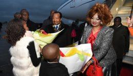 President Biya in Paris