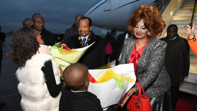 President Biya in Paris