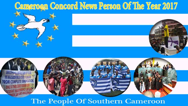 Cameroon Concord News Person of the Year 2017: The People of Southern Cameroons