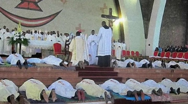 Roman Catholic priest assassinated in French Cameroun