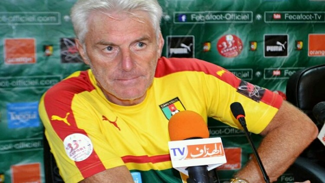 Hugo Broos fired as French Cameroun coach