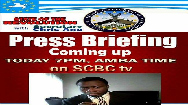 Ambazonia: Interim President in good spirit, Communication Secretary to address the nation