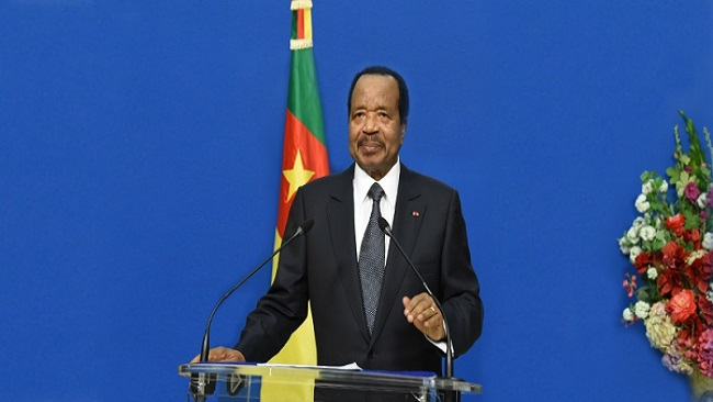 Biya speaks from both sides of his mouth