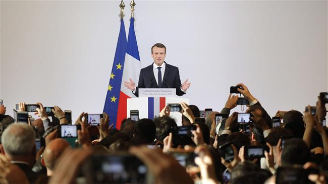 President Macron urges European unity against China