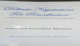 Churchill Ewumbue-Monono raises diplomatic flag in new book