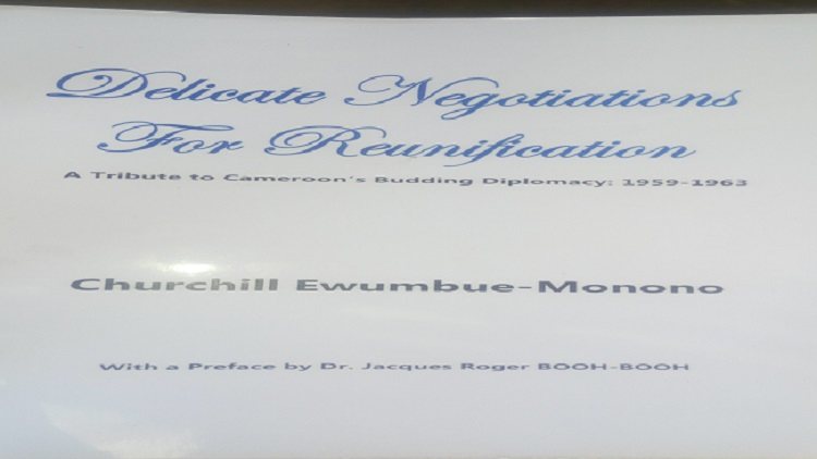 Churchill Ewumbue-Monono raises diplomatic flag in new book
