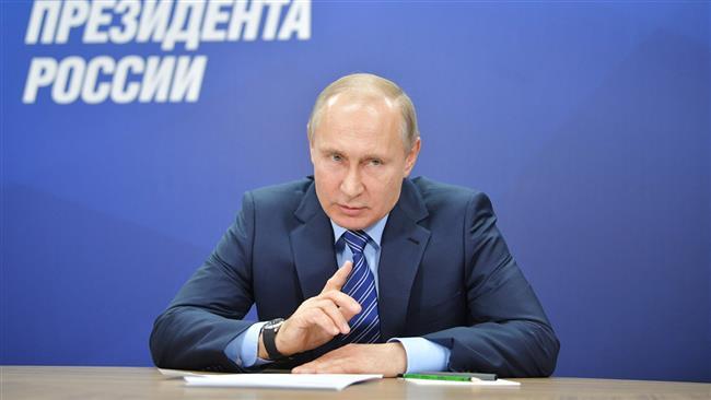 President Putin says Opp. figure Navalny US's choice for Russian president