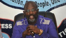 Video: 51-year old President George Weah takes on Nigeria's Super Eagles
