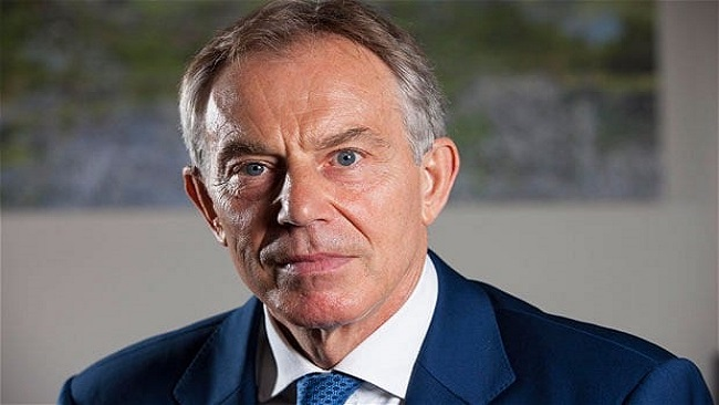 Former UK prime minister Tony Blair calls for second Brexit referendum
