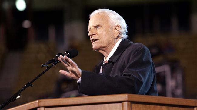 Influential US evangelical preacher Billy Graham dies at 99