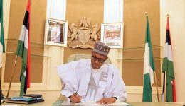 Abuja:Buhari signs presidential order to boost employment, local production