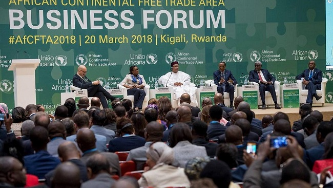 "Kigali: Obasanjo tells African leaders ""Sign the deal to boost 'Trade not Aid' movement"""
