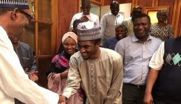 Nigeria: Buhari's son returns after surgery in Germany