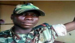 Soldier loyal to Biya regime gun down in Kumba