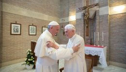 Former Pope Benedict XVI breaks silence to reaffirm celibacy in the priesthood