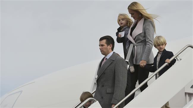 Trump Jr., wife announce marriage breakup