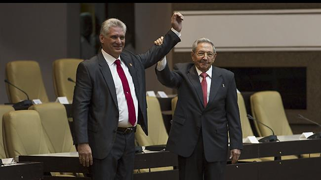 Cuba: Diaz-Canel sworn in as new president to end Castro brothers' rule