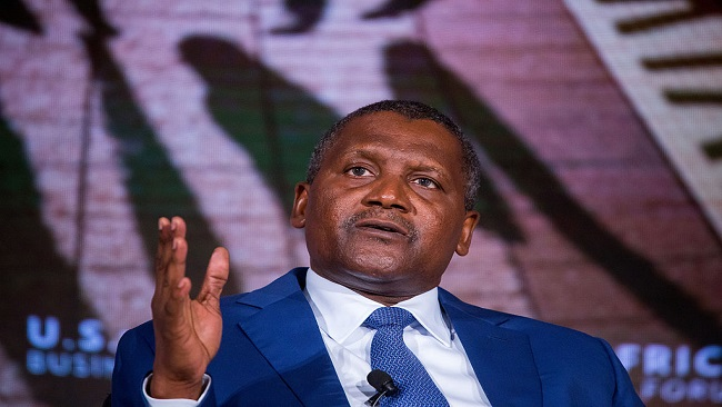 Aliko Dangote still Africa's richest man