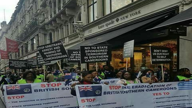 Southern Cameroons Crisis: Massive Anti-Biya Outpouring Expected in London
