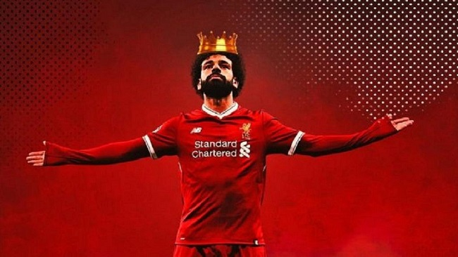 Egypt's Mo Salah: On top of the world