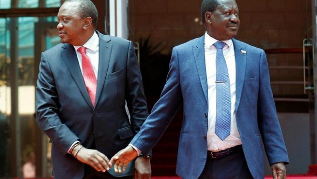 Kenya: Odinga says 'reconciliation handshake' has been violated by gov't officials