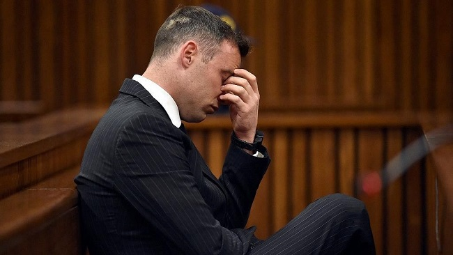 South Africa:  Top court dismisses Pistorius' bid to appeal murder sentence