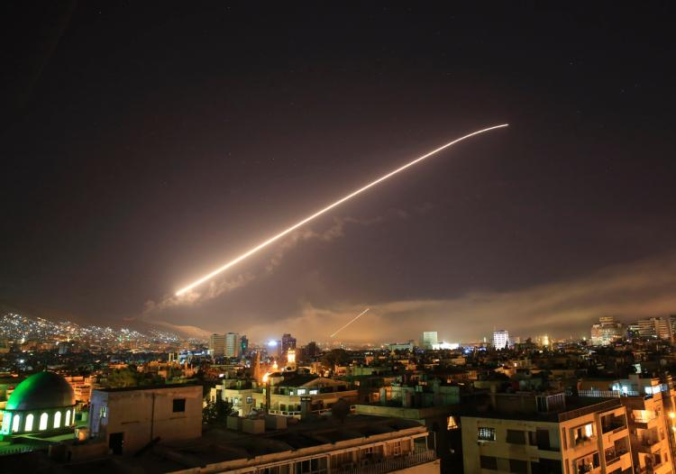 Syria comes under military attack on Trump's orders, 13 missiles shot down
