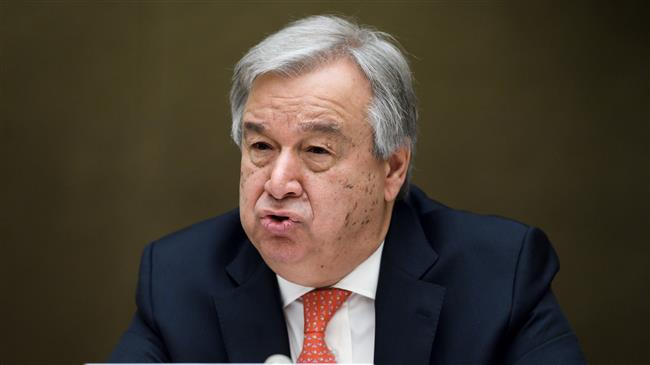 UN Sec. Gen. expresses 'concern' about US withdrawal from Iran deal