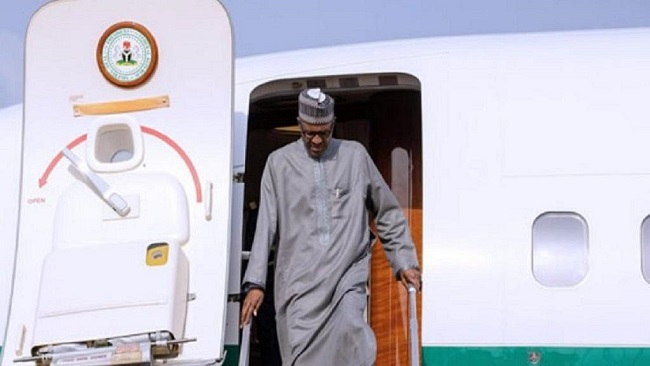 Nigeria: Buhari returns from medical check-up in London