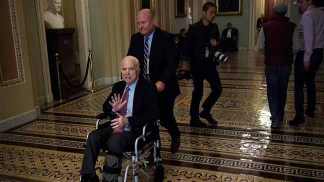 US: White House official mocks 'dying' Sen. McCain