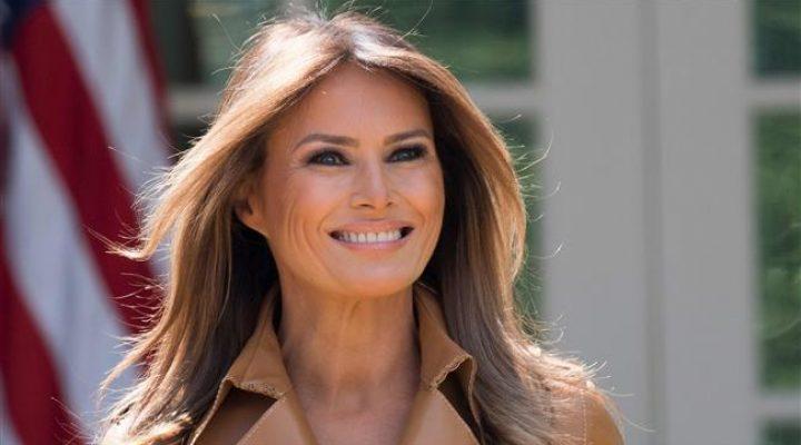 Trump misspelled wife's name in a tweet welcoming her home