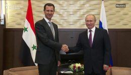 Putin, Assad declare Syria ready for political process